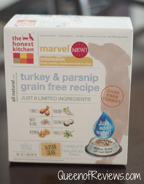 The Honest Kitchen Marvel Minimalist Diet Dog Food ~ Queen of Reviews