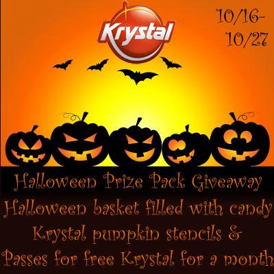 Krystal Halloween Prize Pack Giveaway