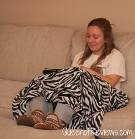 Hannah Wearing Dearfoams