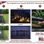 Crab Pot Lighted Christmas Trees from Fisherman Creations