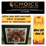 Iron Man War Machine Limited Edition Print Giveaway