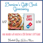 Domino's Pizza $50 Gift Card Giveaway