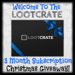 Lootcrate 3 Month Subscription Christmas Giveaway