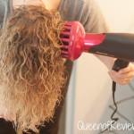 Using the Nanoe Moisture Infusion Hair Dryer EH-NA65-K