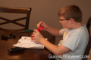 Ethan with Revell Mustang Model