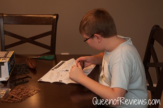 Ethan with Revell Diamond Ship Model