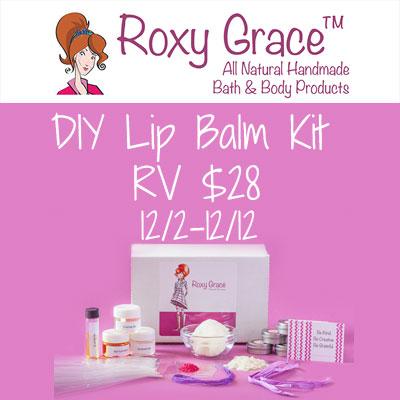Roxy Grace DIY Lip Balm Kit Giveaway