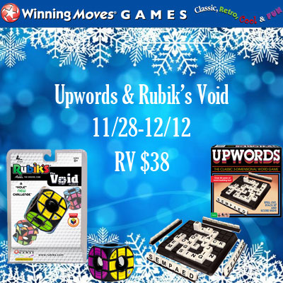 Winning Moves Holiday Giveaway