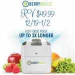 Keep Your Fruits & Veggies Fresh 3X Longer with Berry Breeze + Giveaway