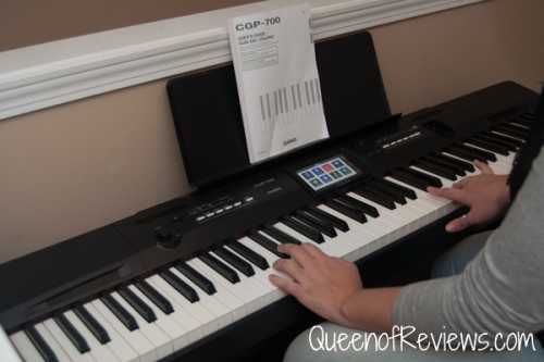 The All New Casio CGP-700 Compact Grand Piano is Amazing!