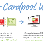 Buy and Sell Gift Cards Easily with Cardpool + $100 Amazon GC Giveaway #CardOffer317