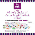 I and Love and You Seriously Awesome Pet Food + Giveaway