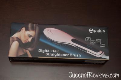 Apalus Brush Hair Straightener Box
