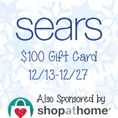 $100 Sears Gift Card Giveaway