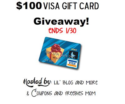$100 Visa Gift Card Giveaway Event