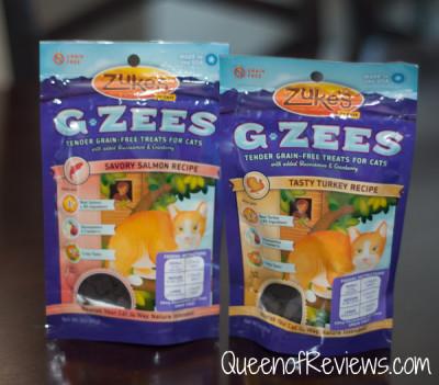 Zukes G-Zees Cat Treats