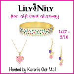 Lily Nily $50 Gift Card Giveaway