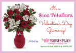 $100 Teleflora Gift Certificate Giveaway