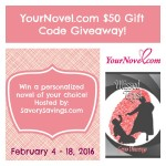 $50 YourNovel.com Gift Code Giveaway
