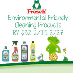 Environmentally Friendly Cleaning Products from Frosch + Giveaway