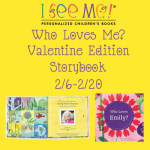 I See Me Who Loves Me? Valentine Edition Personalized Storybook + Giveaway