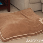 Aspen Pet Shearling Gusseted Pillow Bed from Petmate