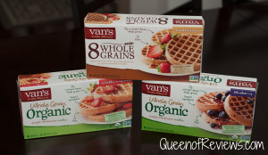 Celebrate National Hot Breakfast Month with Van's Waffles + Giveway
