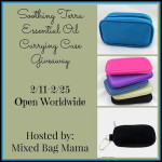 Soothing Terra Essential Oil Carrying Case Giveaway