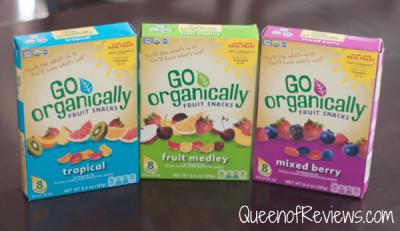 USDA Certified Organic Fruit Snacks from Go Organically