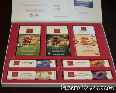 Chocolate Frey Assortment Opened