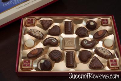 Chocolate Frey Assorted Pralines Opened