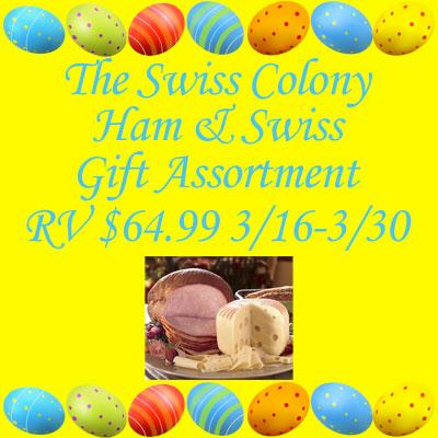 Swiss Colony Ham & Swiss Gift Set Giveaway