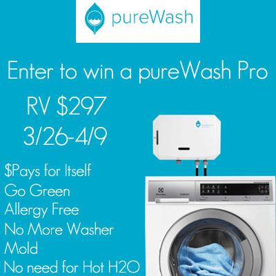 pureWash Pro Giveaway
