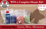 Family Fun Complete Mosaic Kit Giveaway