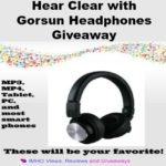 Hear Clear with Gorsun Headphones Giveaway