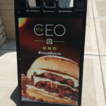 The All New CEO Burger at BURGERFI #meattheceo