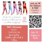 LulaRoe Leggings Giveaway – 2 Winners