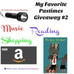My Favorite Pastimes Giveaway #2