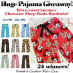 Summer Character Sleep Pant Wardrobe Giveaway