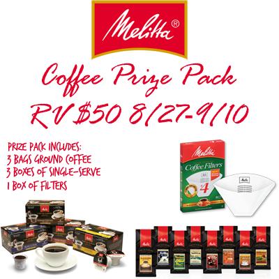 Melitta Coffee Giveaway