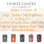 Yankee Candle 2016 Fall Fragrance Collection Giveaway