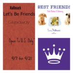 """Hallmark """"Let's Be Friends"""" Animal Society Giveaway"""