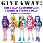 MLP Equestria Girls, Legend of Everfree 5 Doll Giveaway