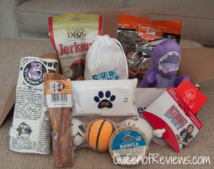 Pooch Perks Back to School Box for September