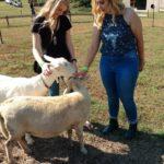 Hannah and Madison Petting Zoo Shuckles