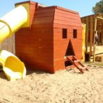 Play area at Shuckles