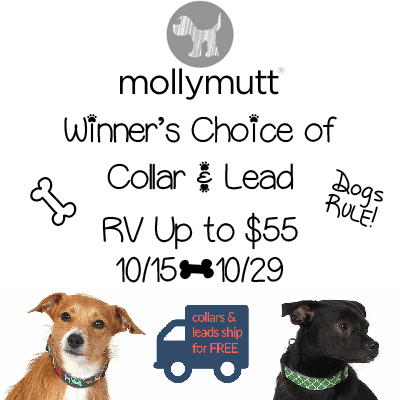 Molly Mutt Giveaway. Ends 10/29