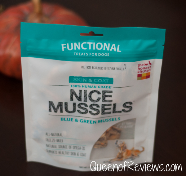 New Nice Mussels from The Honest Kitchen