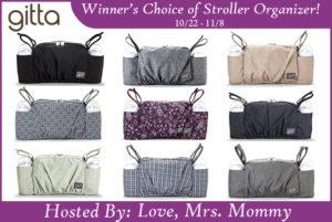 Winner's Choice of Gitta Stroller Organizer