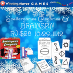 Scattergories Categories & BRAINSPIN from Winning Moves + Giveaway